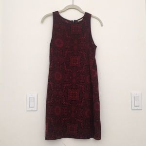 Antholopologies red wine dress